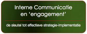interne communicatie en engagement